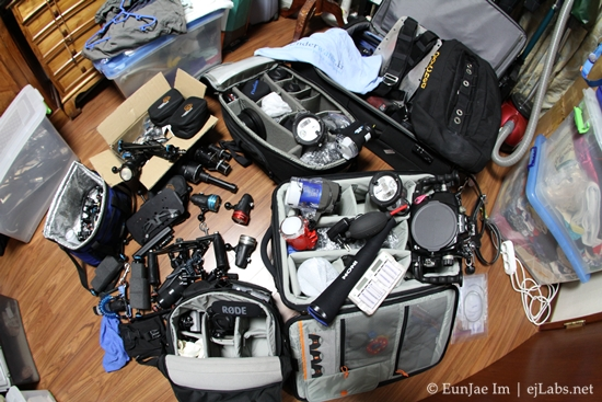 packing – uw photographer's ultimate challenge