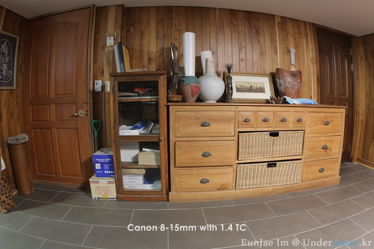 Canon 8-15mm vs 16-35mm FOV comparison