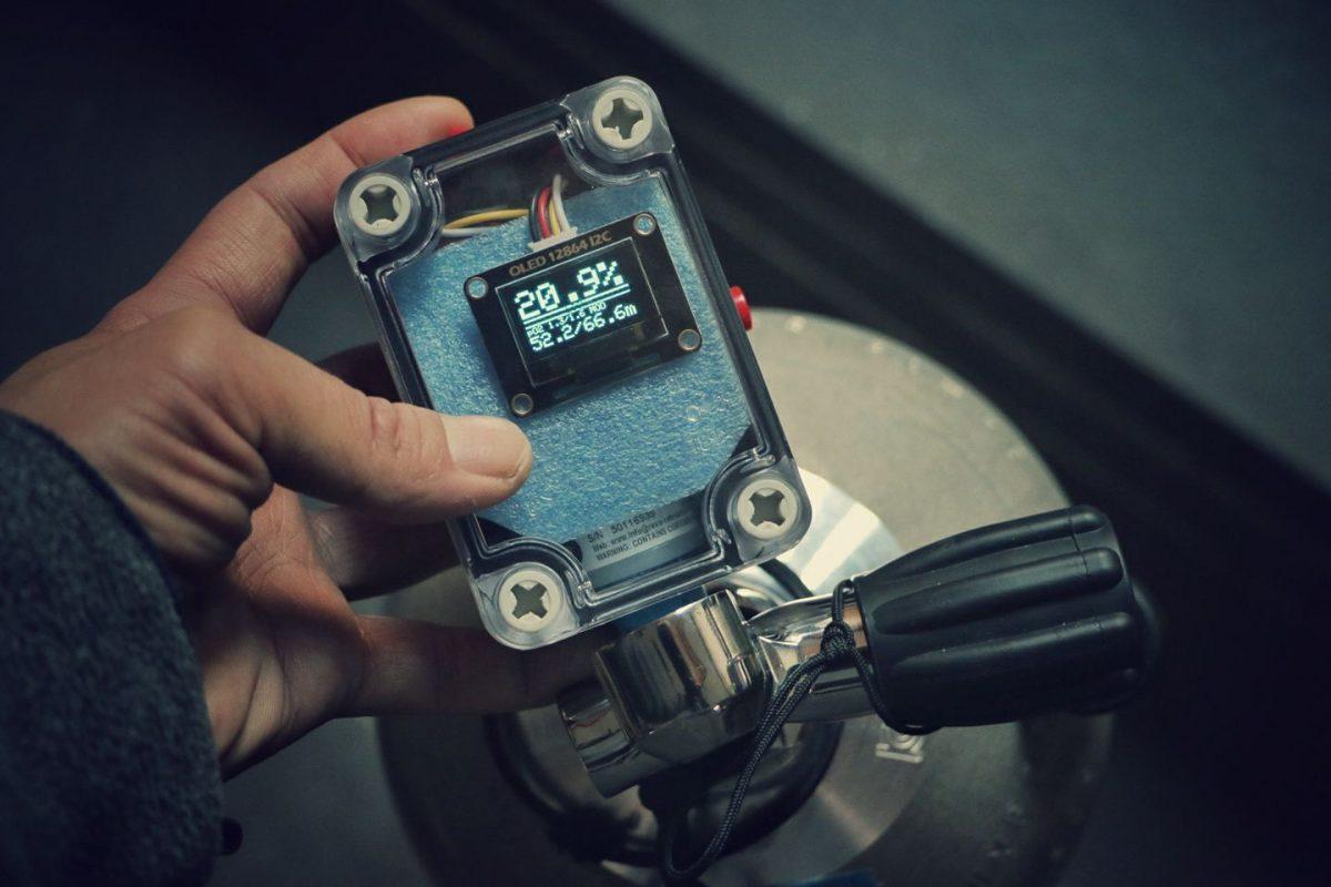 Arduino oled nitrox analyzer