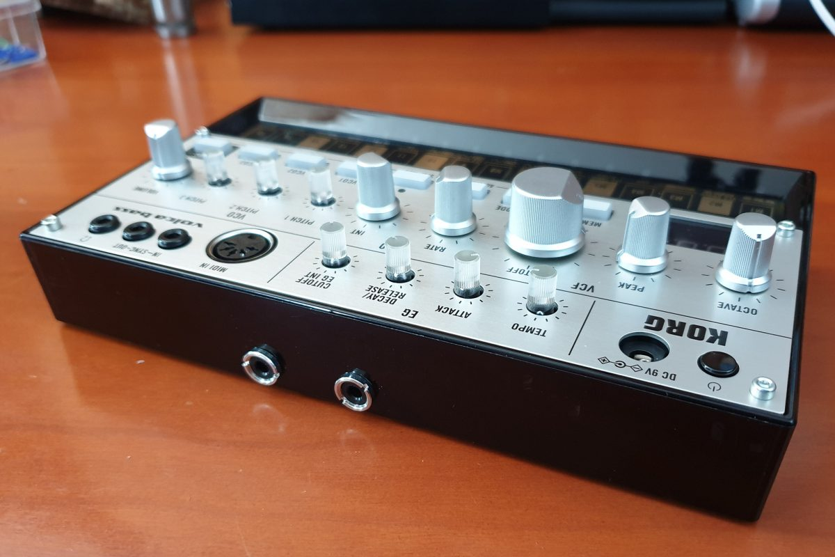 Korg Volca 3.5mm TRS MIDI Out Mod