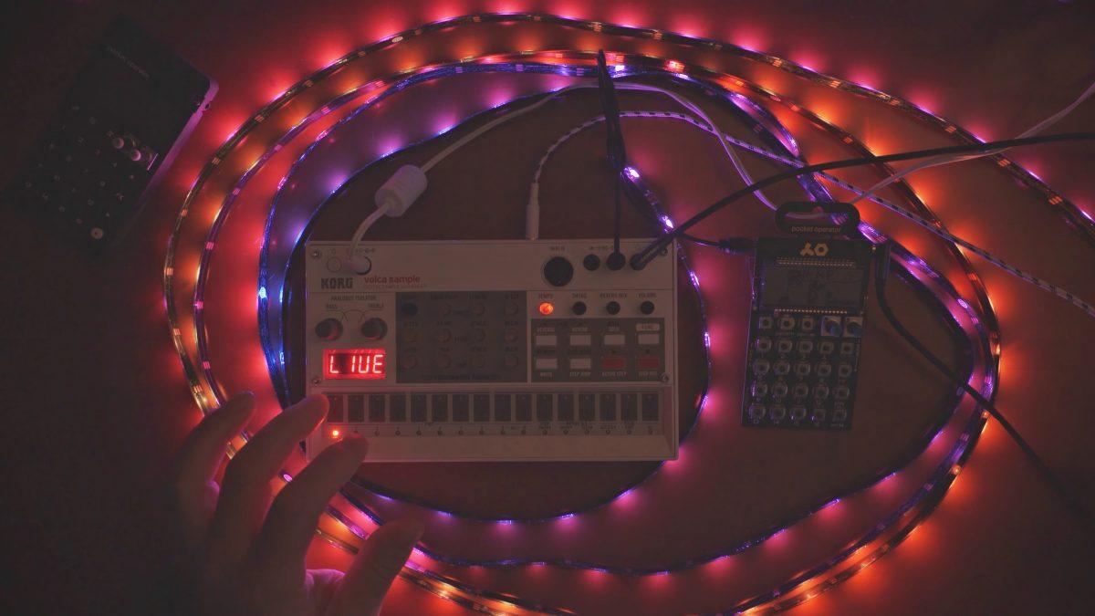 Arduino MIDI Reactive RGB Led