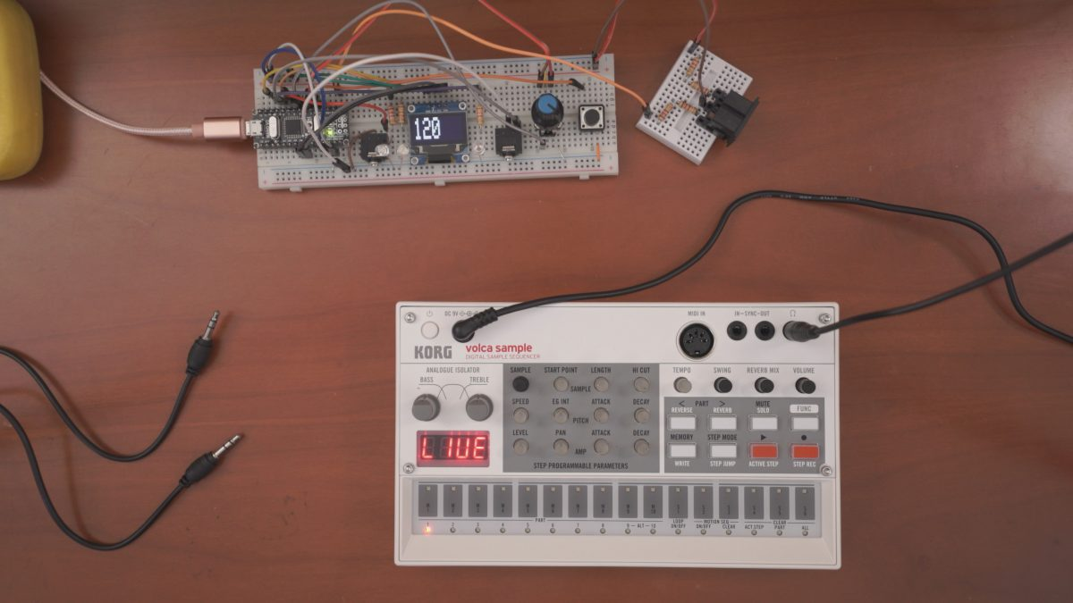 Arduino Midi Master Clock