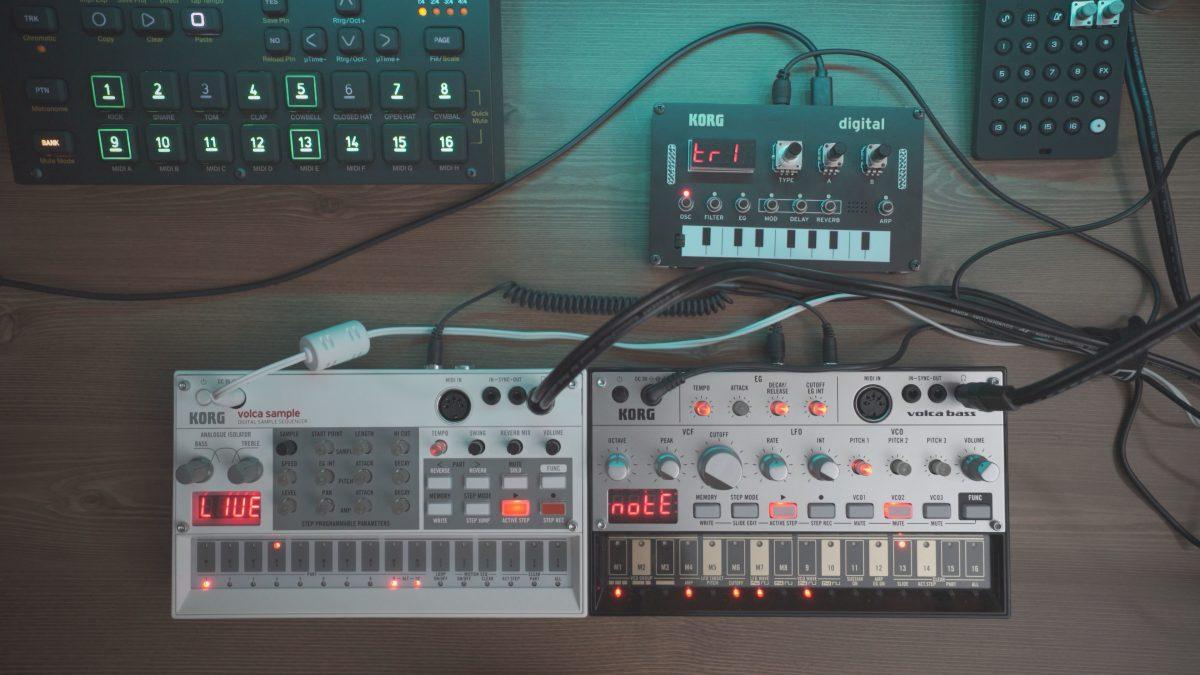 Techno Jam – Volca Sample, Bass and NTS-1