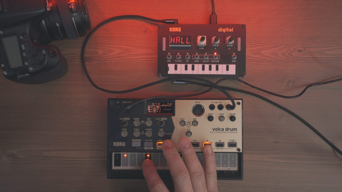 Volca Drum and NTS-1