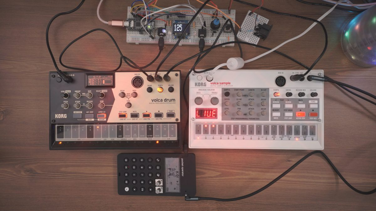 WARP DRIVE – Volca Drum, Sample & PO-33