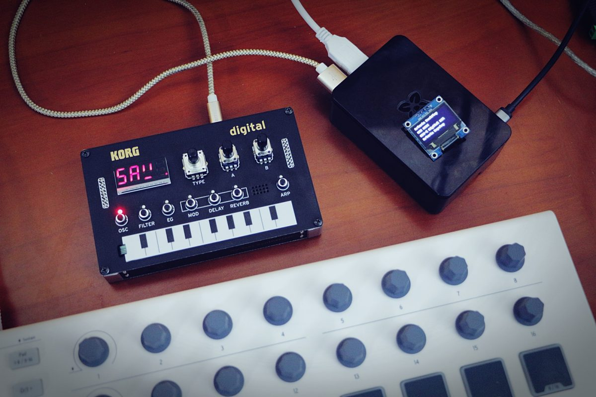 Raspberry Pi as USB MIDI Host