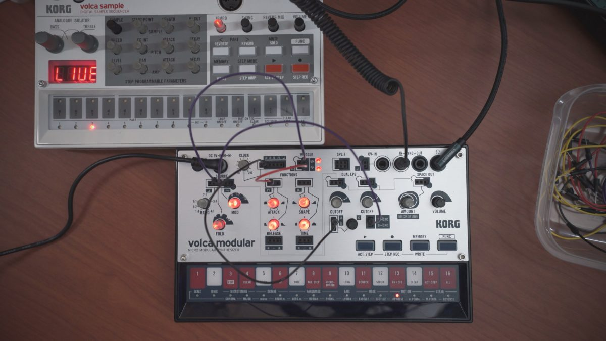 Volca Modular – Total Beginner Day 2