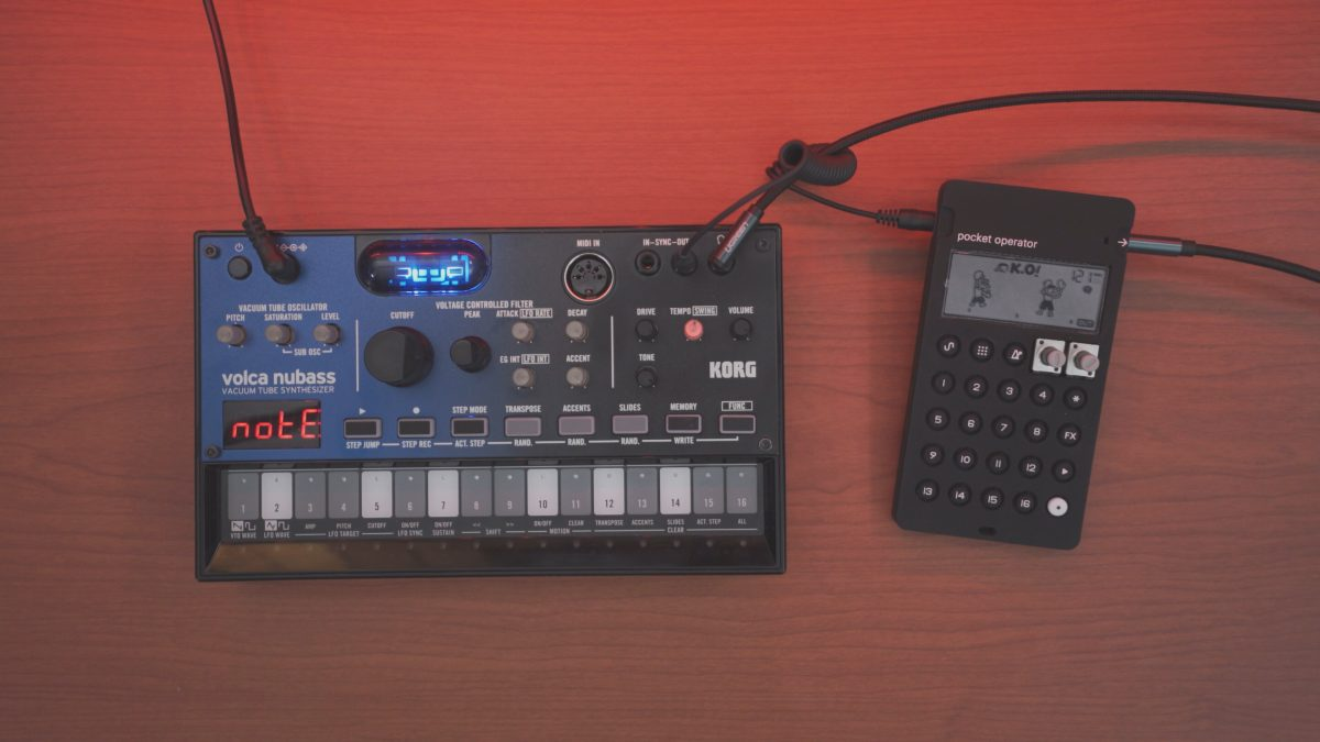 Volca NuBass and PO-33 KO!