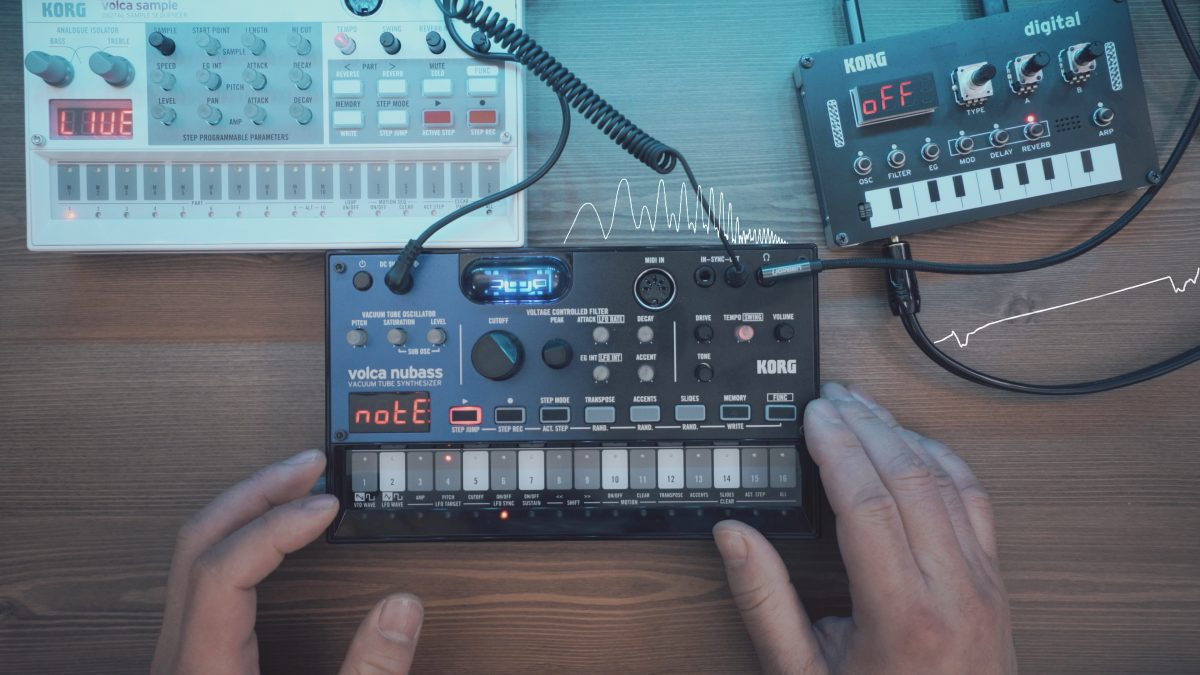 Volca NuBass with NTS-1