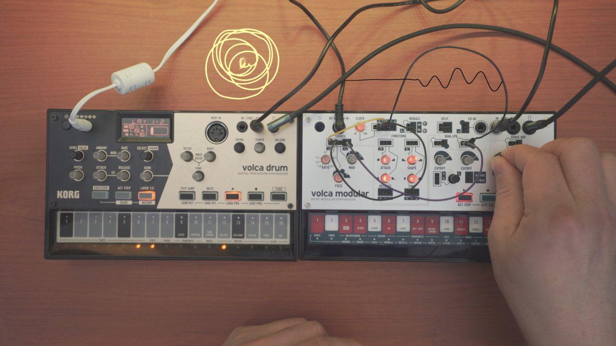Percussive | Volca Drum & Modular
