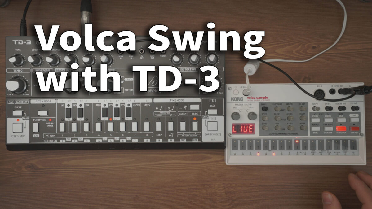 Volca Swing Sync with TD3