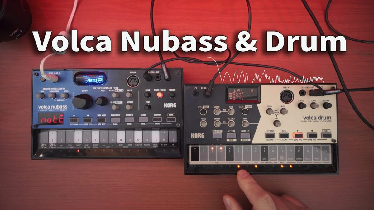 Morning Jam with Volca Nubass & Drum